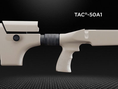 Several improvements were made to the original TAC-50 stock.